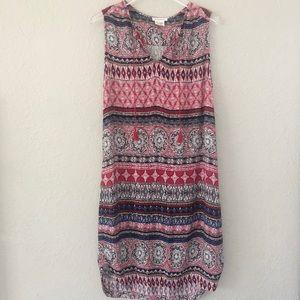 Beachlunchlounge Tunic Dress Multi-Print L